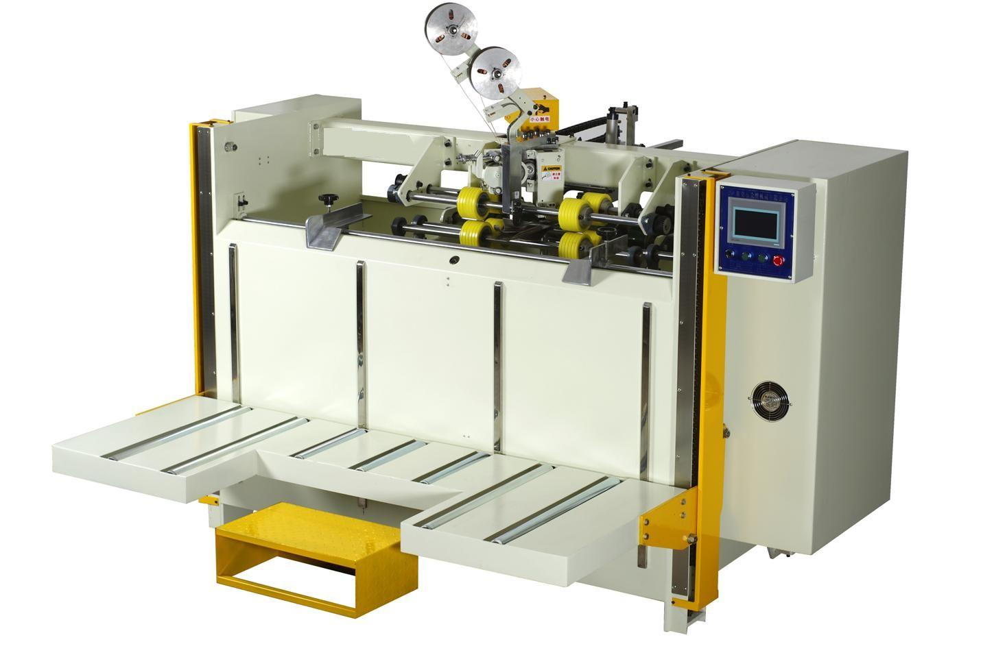 Carton stitching machine